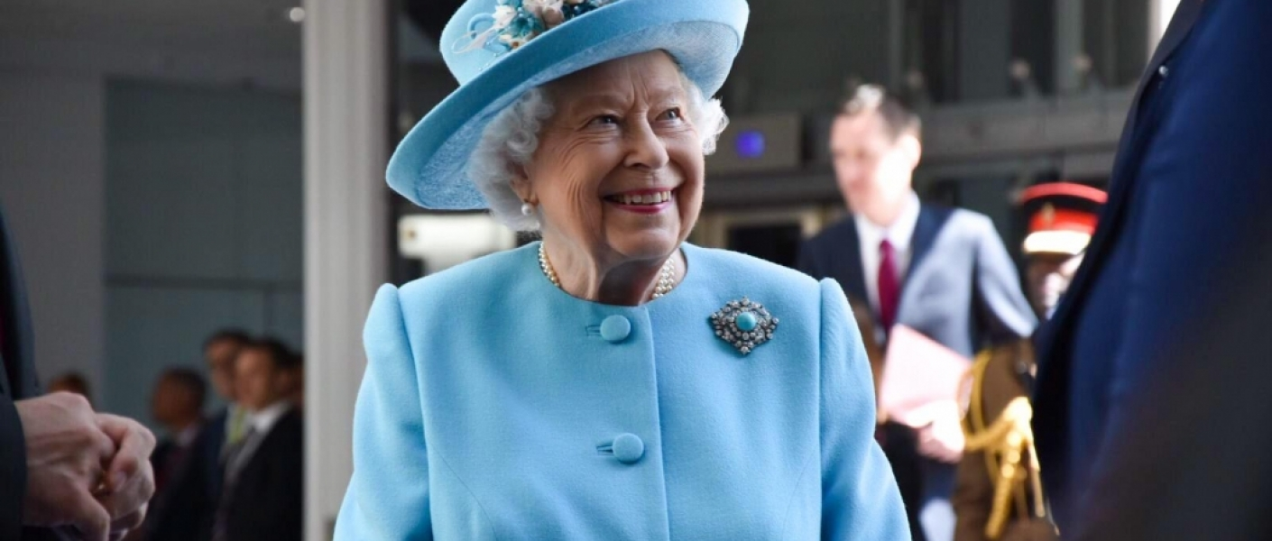 The Queen visits British Airways to celebrate its 100th year