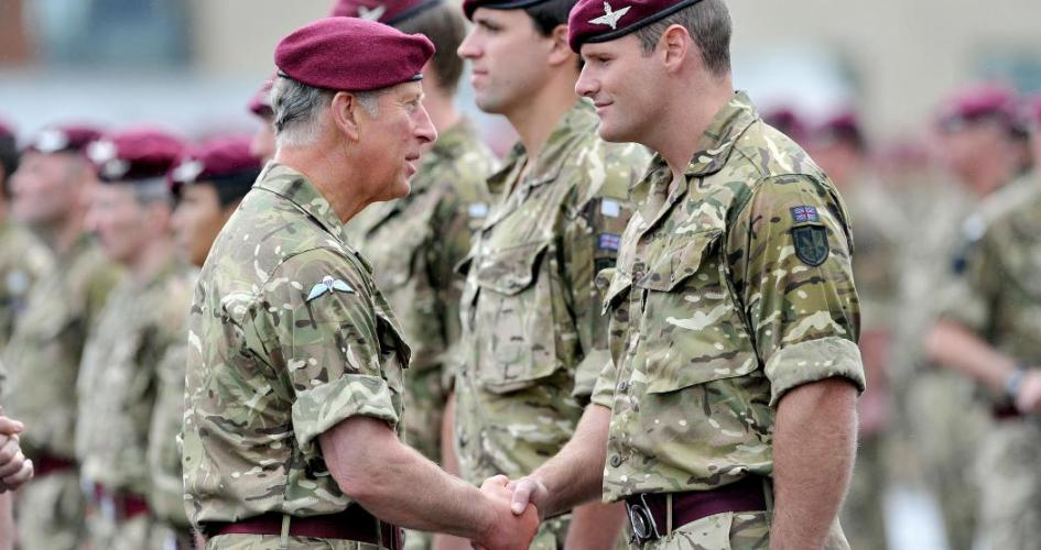 The Prince of Wales meets Paratroopers - Royal.uk