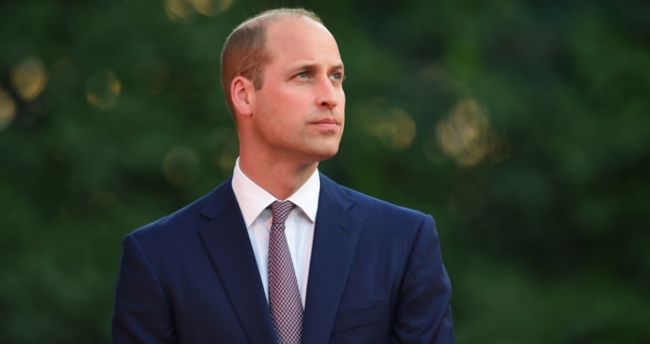 The Duke of Cambridge in Jordan