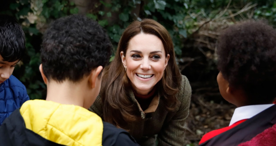 The Duchess of Cambridge will design a garden for the Royal Horticultural Society Chelsea Flower Show