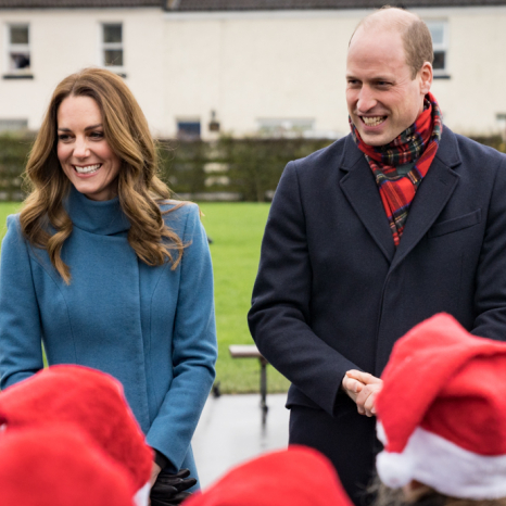The Duke and Duchess of Cambridge tour the UK ahead of the Christmas holidays