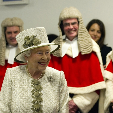 The Queen and law