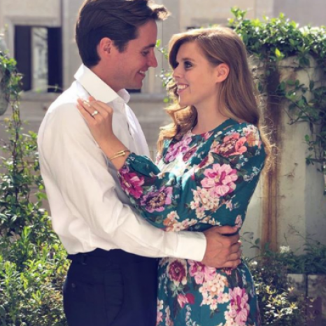 The wedding of HRH Princess Beatrice of York and Mr. Edoardo Mapelli Mozzi will take place on Friday 29 May 2020. The couple became engaged in Italy in September 2019.  The Queen has kindly given permission for the ceremony to take place at The Chapel Royal, St James's Palace.  The ceremony will be followed by a private reception, given by The Queen, in the gardens of Buckingham Palace.  Image: © Princess Eugenie