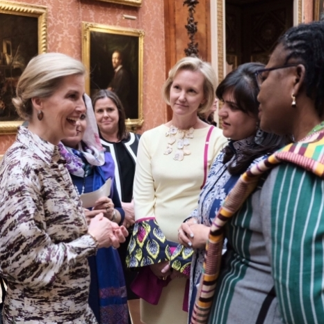 The Countess of Wessex hosts #IWD2019 an reception for Peacebuilders. Watch the film in full on our #IGTV.  The Countess of Wessex hosted a reception for International Women's Day at Buckingham Palace to celebrate the vital role of women in building peace in countries affected by conflict.  In a speech made at the reception, Her Royal Highness announced her commitment to support the UK's work in helping put more women and girls at the centre of conflict resolution, encouraging women's participation in building peace and supporting survivors of sexual violence in conflict.