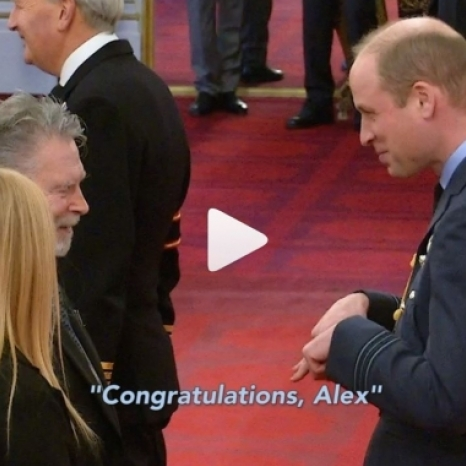 Today The Duke of Cambridge used British Sign Language to congratulate Alex Duguid MBE, as he presented him with his honour at Buckingham Palace.  Alex has been the face of popular British TV shows Emmerdale and Coronation Street for its deaf audience for decades, as a British Sign Language (BSL) interpreter.  He is an example of how profoundly deaf people can have an impact on their community, their peers and their country. He is passionate about BSL and the need to promote and protect it.  Alex has spent the past thirty years giving up his time raising hundred of thousands of pounds towards community projects benefitting South Tyneside's deaf community, and teaching BSL classes through the organisation Signature, helping hundreds of people communicate with deaf people — visit @signaturedeaf to find out more about their work.  Footage 🎥 courtesy of BCA / @bsl_zone / @newcastlechronicle
