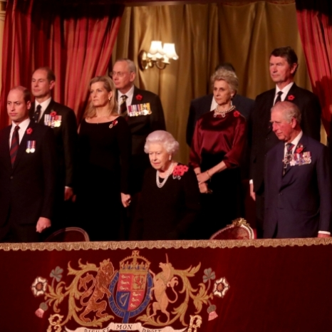 Tonight, members of the Royal Family are at the Royal Albert Hall for the Festival of Remembrance. The annual event, held in honour of those who have given their lives in the service of their country, has been marked since 1923. Tomorrow, Remembrance events culminate in the Cenotaph service on Whitehall which will be attended by more than 10,000 veterans and serving members of the Armed Forces. 📸 Press Association
