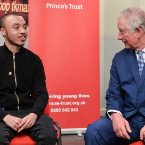 Today, The Prince of Wales visited @tkmaxxuk in Tooting to meet young people who have taken part in @princestrust's 'Get into Retail' programme.  The programme offers specialist training and roles to young people, many of whom remain employees in TK Maxx stores.  TK Maxx's partnership with The Prince's Trust has helped over 1,000 young people since 2013.  The Prince also joined a discussion with people who have been supported by @princestrust to hear about what it's like to be a young Londoner today and the challenges they have overcome to gain stable employment. 📸 PA / Clarence House