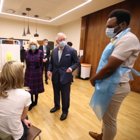 Visit to Queen Elizabeth Hospital Birmingham