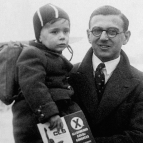On #HolocaustMemorialDay, we come together to learn more about the past and take action to create a safer future.  At @nordenfarm in Maidenhead, The Earl of Wessex met the son of Sir Nicholas Winton and one of 'Nicky's Children', John Fieldsend.  Sir Nicholas rescued 669 children from Nazi-occupied Czechoslovakia in the nine months before war broke out in 1939, ensuring their safe passage to Britain and finding them homes.  John Fieldsend, one of Nicky's children, was saved by Sir Nicholas before the start of the war. He was only seven years old when he said goodbye to his family and escaped to England with his brother.  The story only became known to the public in 1988 when it featured on 'That's Life', a BBC TV programme hosted by Esther Rantzen.  In 2003, Sir Nicholas received a Knighthood from The Queen for services to humanity.  Visit our story to see the moment Sir Nicholas was reunited with some of the children he saved.  Nicholas Winton was born on 19 May 1909 and passed away in 2015 aged 106.  Film © 'Nicky's Children' by Matej Minac.
