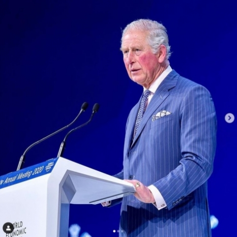 """What good is all the extra wealth in the world, gained from ""business as usual"", if you can do nothing with it except watch it burn in catastrophic conditions?"" Read HRH's speech in full through the link in our bio."