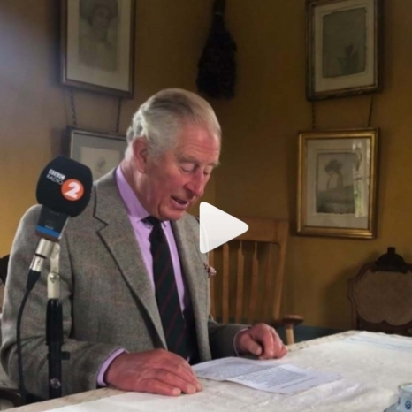 🎧 On #NationalPoetryDay, listen to The Prince of Wales read one of his favourite compositions – 'Quoting Shakespeare' by Bernard Levin. 📝  The piece explores the everyday use of Shakespeare's phrases.  The recording was broadcast this morning on the @bbcradio2 Breakfast Show. Swipe ⬅️ to keep listening.