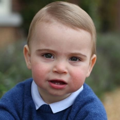 Happy Birthday Prince Louis! To mark Prince Louis' first birthday today, The Duke and Duchess of Cambridge are delighted to share three new photographs.  The photographs were taken earlier this month by The Duchess at their home in Norfolk. @kensingtonroyal