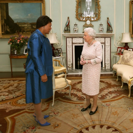 Baroness Scotland is received by The Queen, on her appointment as Commonwealth Secretary-General.  Patricia Scotland will be the sixth Commonwealth Secretary-General and the first woman to take up this post.  The Queen is Head of the Commonwealth, a voluntary association of 53 independent countries. As Head, Her Majesty personally reinforces the links by which the Commonwealth joins people together from around the world. 📷 Press Association