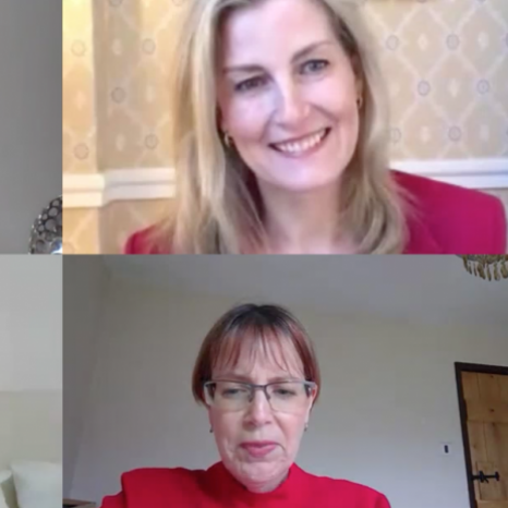 """💻📞On Thursday, The Countess of Wessex joined a series of video conferences with organisations with which she works, to find out how different communities are dealing with the Coronavirus outbreak. . .""""𝘛𝘩𝘦 𝘤𝘩𝘢𝘯𝘨𝘦 𝘪𝘴 𝘫𝘶𝘴𝘵 𝘢𝘭𝘭 𝘢𝘳𝘰𝘶𝘯𝘥 𝘢𝘯𝘥 𝘪𝘵'𝘴 𝘩𝘢𝘱𝘱𝘦𝘯𝘪𝘯𝘨 𝘦𝘷𝘦𝘳𝘺 𝘴𝘦𝘤𝘰𝘯𝘥."""" James Sinclair, autistic adult and ambassador for the @nationalautisticsociety , speaks during a video call with HRH, Patron of the Society, Emma, a parent supported by the charity, and Chief Executive Caroline Stevens.  The Countess spoke to the group about their experiences of changing routines, creating new habits and the resources available to support them during this time. . .📸The Countess also joined a virtual meeting with @whatthewomensay 41 women peacebuilders, from countries across the world, including Sri Lanka, Afghanistan and Columbia.  Her Royal Highness heard how their communities - already suffering as a result of conflict - have been impacted. The women are working hard on the ground to keep their communities safe, particularly the women and girls, and shared the difficulties they face in doing this, whilst responding to the outbreak."""