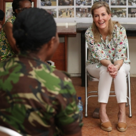 🇸🇱 This week, The Countess of Wessex is visiting Sierra Leone to learn more about the important work being done to support survivors of sexual violence in conflict.  A civil war between 1991 and 1992 led to widespread cases of rape. The violence was brutal and affected an estimated 275,000 women and girls.  Today, Her Royal Highness made a visit to The Peace Museum, in the capital Freetown. She met privately with two survivors to hear their experiences and learnt how it has continued to affect their lives to this day.  The Sierra Leone Peace Museum is on the site of the Special Court of Sierra Leone. The museum stands as a permanent record of the conflict.  PA Images ©
