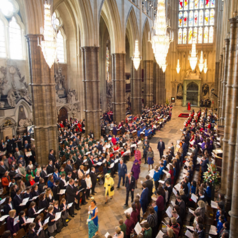 Today The Prince of Wales and The Duchess of Cornwall celebrated #CommonwealthDay alongside The Queen and other members of The Royal Family.  This afternoon Their Royal Highnesses attended a #CommonwealthDay Service at Westminster Abbey which saw performances from @liampayne and the Portsmouth Gospel Choir.  Follow our Instagram story for more.