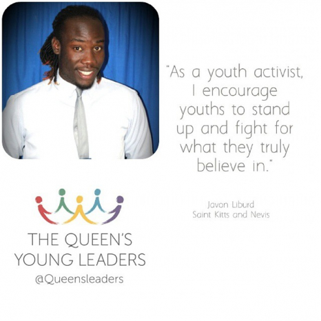 St Kitts and The Queen's Young Leaders