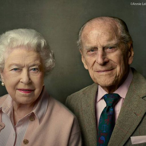 The Duke at 95 with The Queen