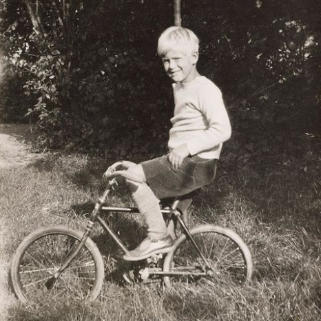 The Duke, aged eight #HappyBirthdayHRH