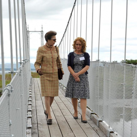 Re-opening the Alexandra Bridge in Tain