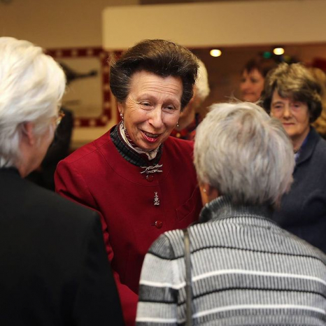 The Princess Royal at the WRNS Benevolent Trust AGM