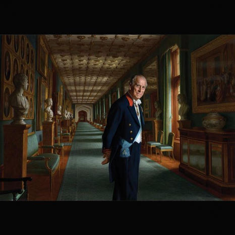 A new portrait of The Duke of Edinburgh is released