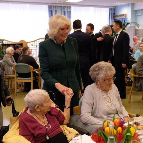 The Duchess visit Stepney Jewish Community Centre