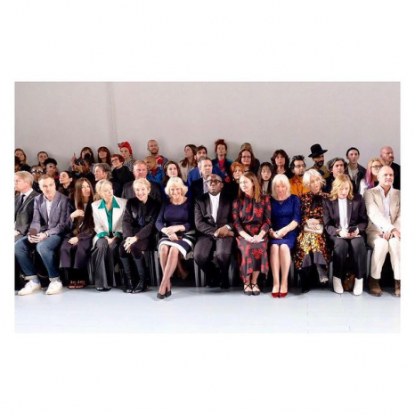 HRH attends London Fashion Week