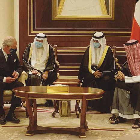 The Prince of Wales in Kuwait