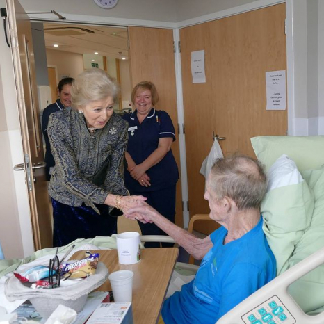 Princess Alexandra at St Christopher's Hospice