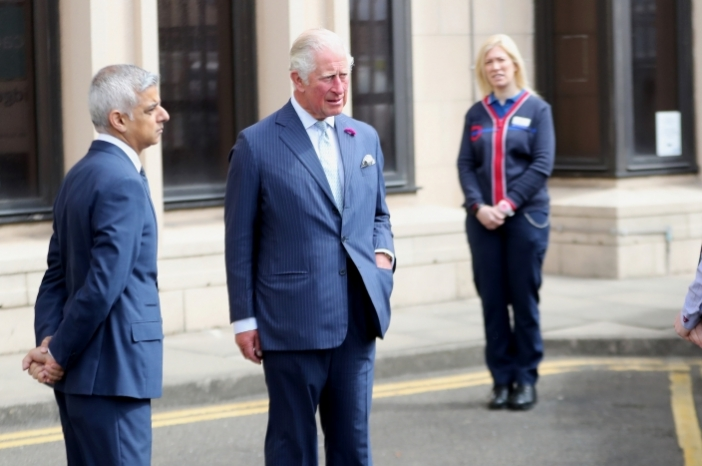 The Prince of Wales withTransport for London workers