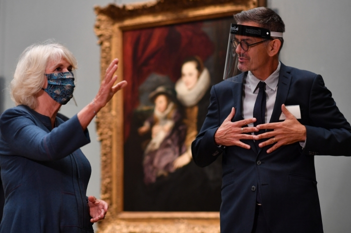 The Duchess of Cornwall at the National Gallery