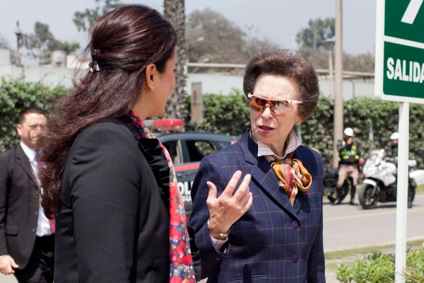 The Princess Royal visits Peru