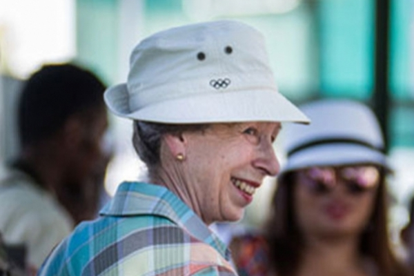 The Princess Royal visits Madagascar